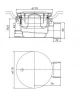 Сифон CZR-01-90_1