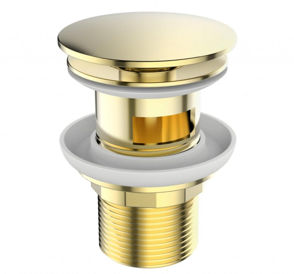 Донный клапан для раковины, золото BB-SAT-ORO