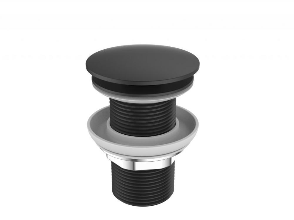 Донный клапан для раковины, чёрный BB-SC-NERO