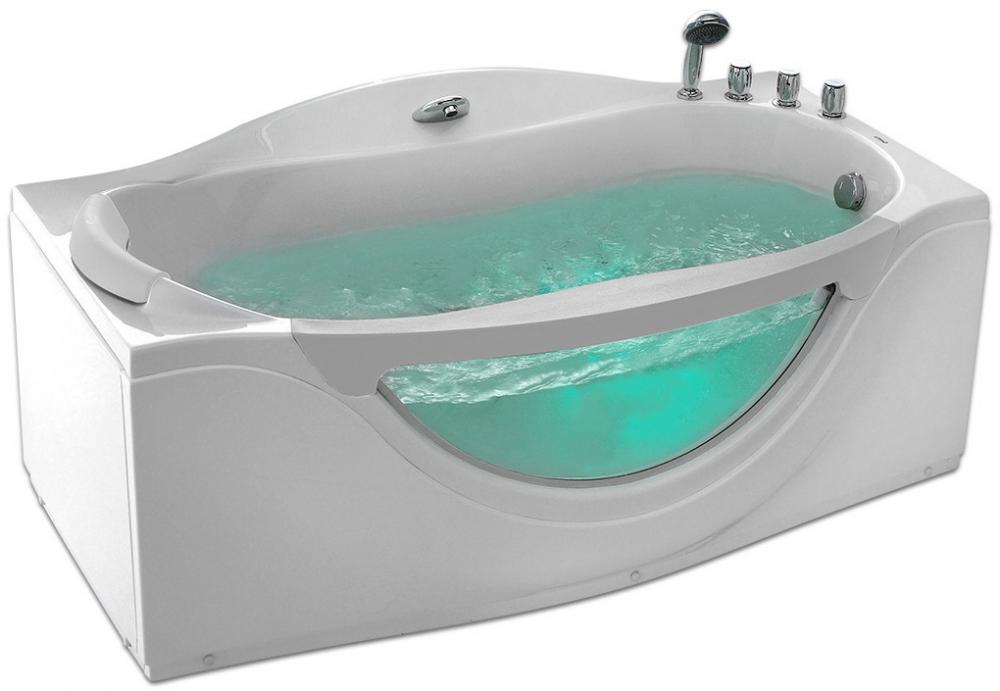Акриловая ванна Gemy G9072 C R 1710*920
