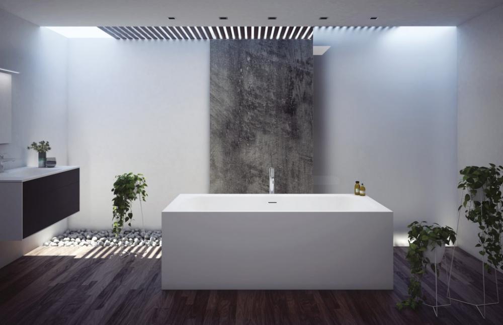 Мраморная ванна Cezares TITAN-VARIO-190-90-BLD