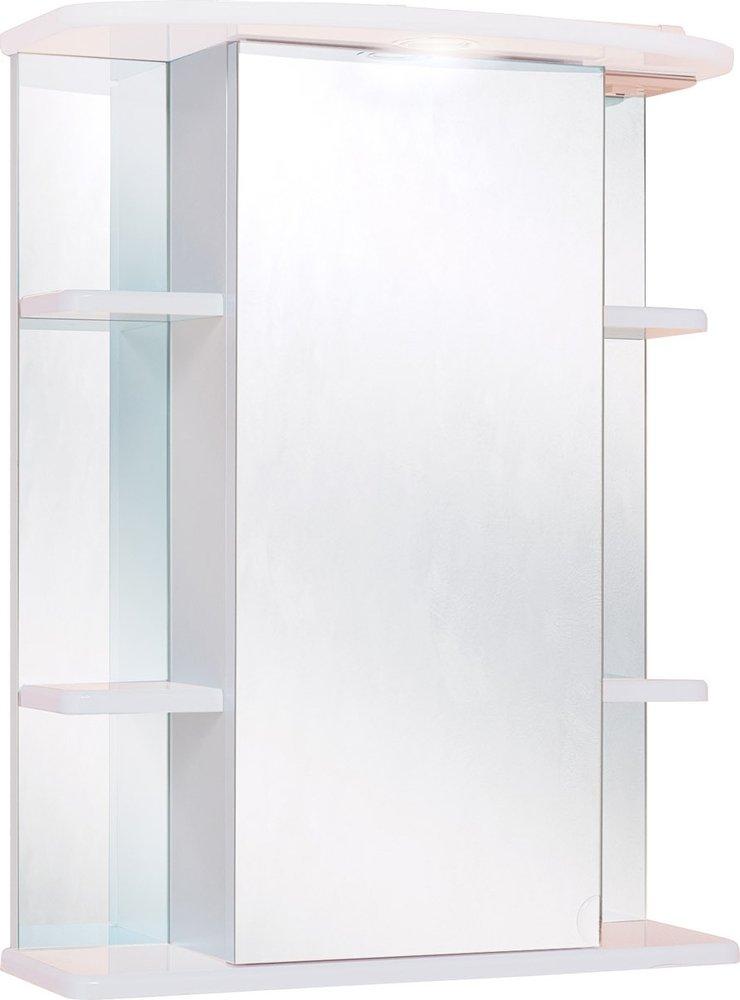 Шкаф-зеркало Onika ГЛОРИЯ 550*245*715 (55.01)L\R(с подсветкой)