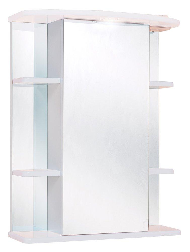 Шкаф-зеркало Onika ГЛОРИЯ 600*245*715 (60.01)(с подсветкой) Левый/правый