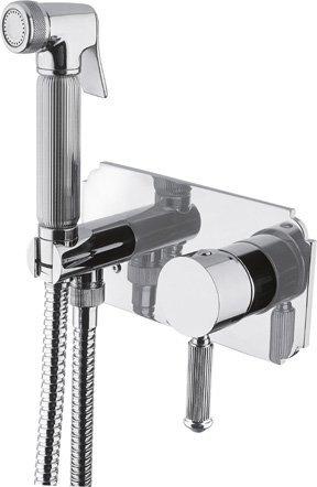 Смеситель с гигиеническим душем однорычажный Cezares OLIMP-DIF-01-L