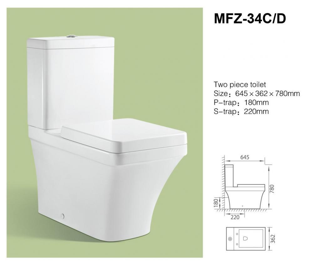 Унитаз MFZ-34D
