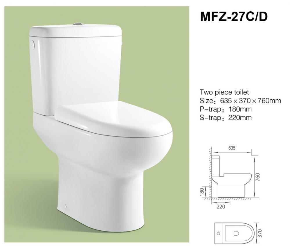 Унитаз MFZ-27D