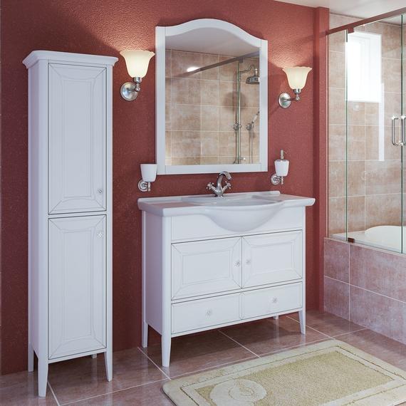 Timo зеркало Aurora 90 M    bianco (белый)