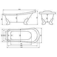 Мраморная ванна Esse  SANTORINI_3
