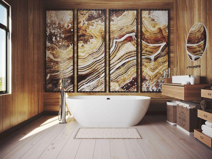 Мраморная ванна Esse  SUMBAWA