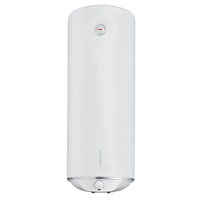 Электрический водонагреватель  ATLANTIC STEATITE SLIM 30 N3  (устанавливается вертикально или горизонтально)