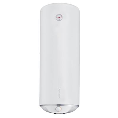 Электрический водонагреватель  ATLANTIC STEATITE SLIM 80 N3  (устанавливается вертикально или горизонтально)