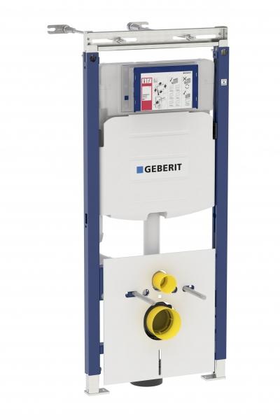 Комплект Geberit Duofix Платтенбау UP320 для подвесного унитаза, H112, для клавиш Sigma*