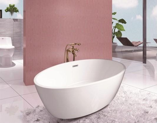 Акриловая ванна отдельностоящая RV-8518 (150*78*58)