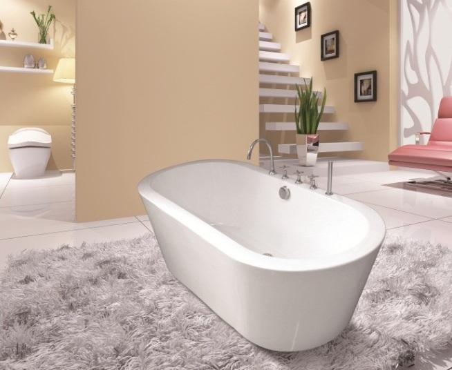 Акриловая ванна отдельностоящая RV-8528 (170*80*60)