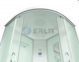 Душевая кабина ERLIT ER4509TP-C3 - RUS 90x90x215 поддон с тонкими бортами_1