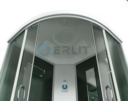 Душевая кабина ERLIT ER4509TP-C4-RUS 90x90x215 поддон с тонкими бортами_1