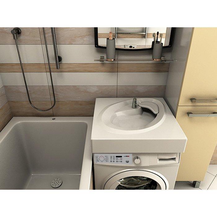Раковина над стиральной машинкой Ameli 600*548
