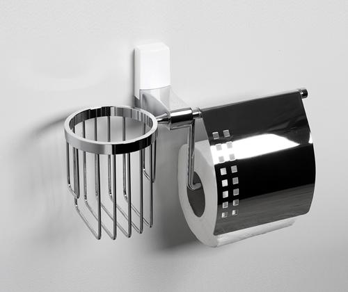 Leine K-5059WHITE Держатель туалетной бумаги и освежителя