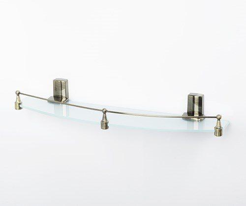 Exter K-5244 Полка стеклянная с бортиком