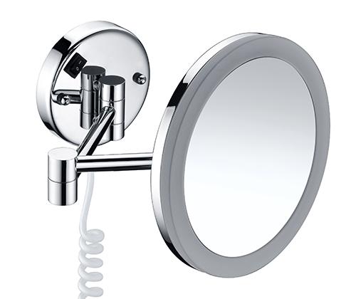 K-1004 Зеркало с LED-подсветкой, 3-х кратным увеличением