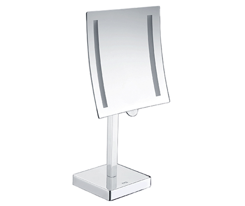 K-1007 Зеркало с LED-подсветкой, 3-х кратным увеличением