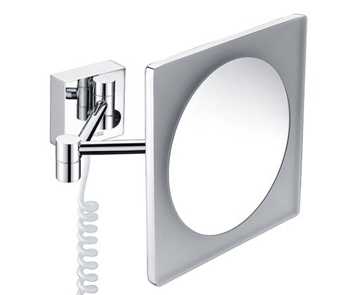 K-1008 Зеркало с LED-подсветкой, 3-х кратным увеличением