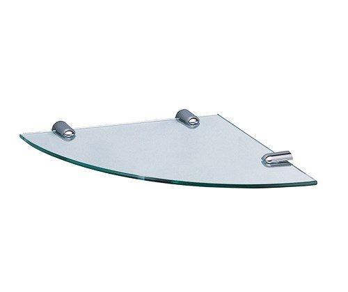 K-533 Полка  стеклянная угловая