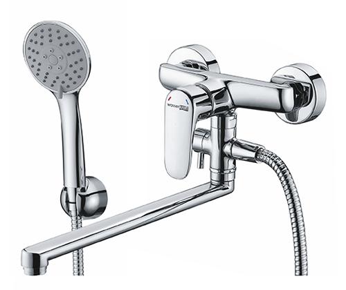 WasserKRAFT Vils 5602L Смеситель для ванны с длинным изливом