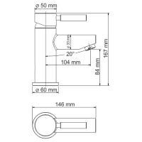 WasserKRAFT Main 4103Thermo Термостатическийический смеситель для умывальника_2