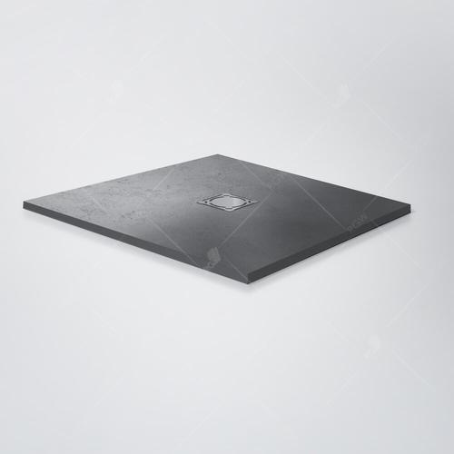 Душевой поддон прямоугольный RGW ST-0128G серый 80*120*2,5