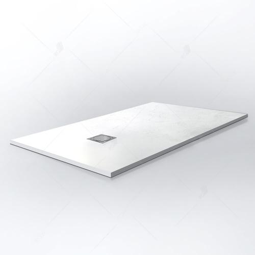 Душевой поддон прямоугольный RGW ST-0128W белый 80*120*2,5