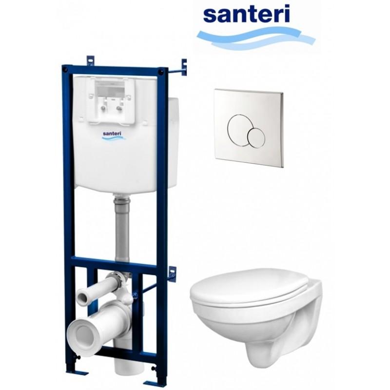Комплект инсталляции для унитаза Santeri Альфа