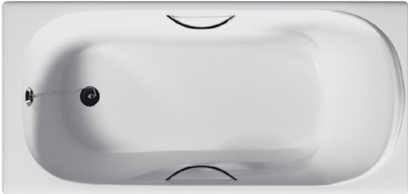 "Чугунная ванна ""GOLDMAN"" Elegant с ручками 1700x800x420"