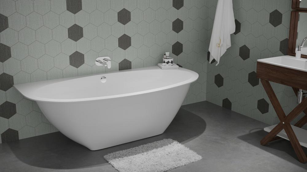 Мраморная ванна LANGKAWI 1870×930