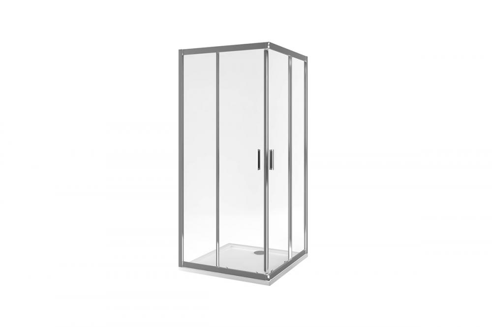 Душевое ограждение CRÉO CERAMIQUE HD 8838-90  900*900*1850мм  стекло 4мм