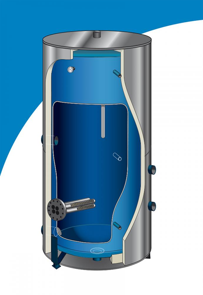 Электрический водонагреватель Atlantic Cortherm 1000L