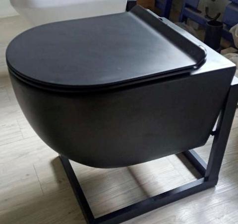 Унитаз подвесной Roveno PC-010 matt black